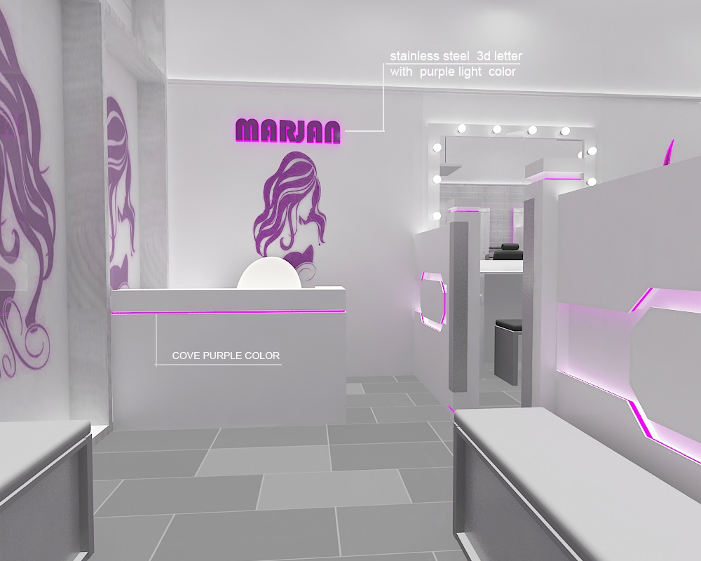 sevenline beauty salon project
